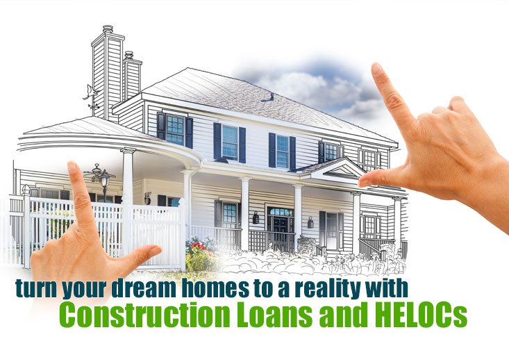 Compare the HELOC to the construction loan to finance home remodeling and rehabilitation.