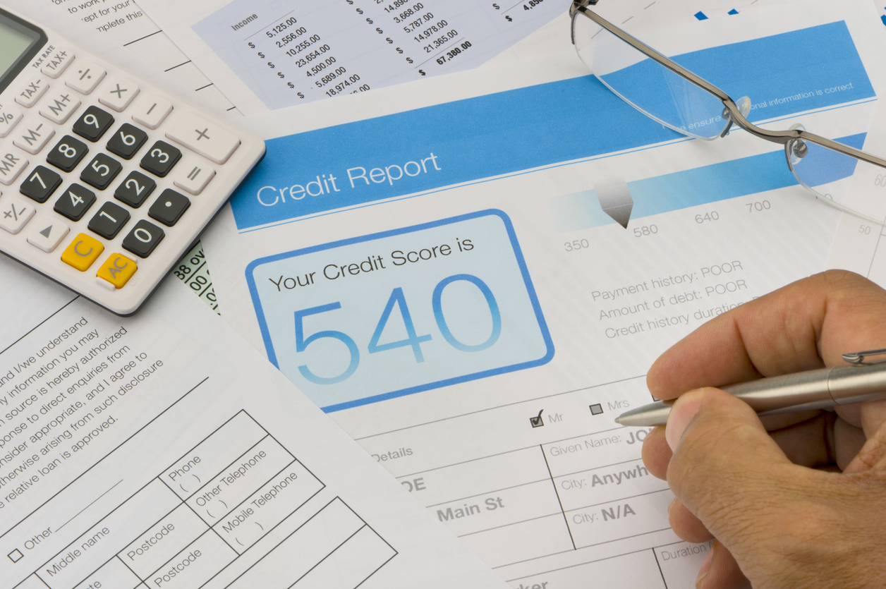 mortgage low credit score