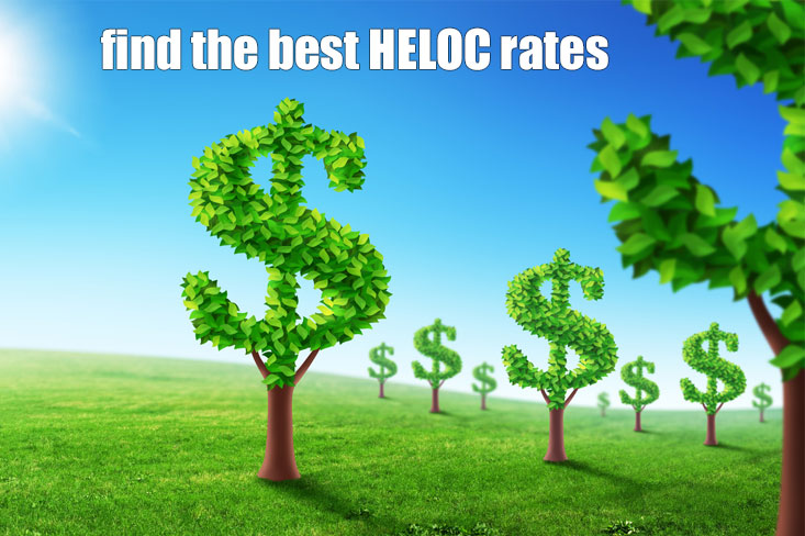 Find The Best Heloc Rates Online Low Interest Credit Lines