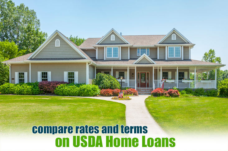 Usda home loans 100 financing in a rural area w low rates for Usda approved homes