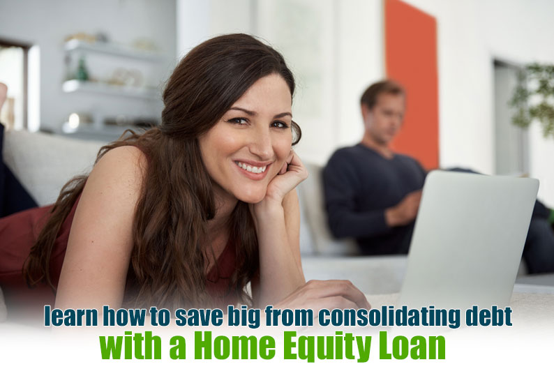 home equity loan to pay off debt